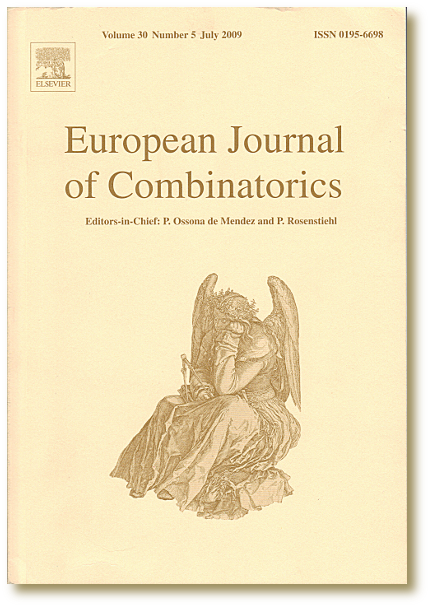 European Journal of Combinatorics